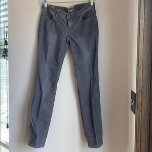 Grey cords modern straight fit.